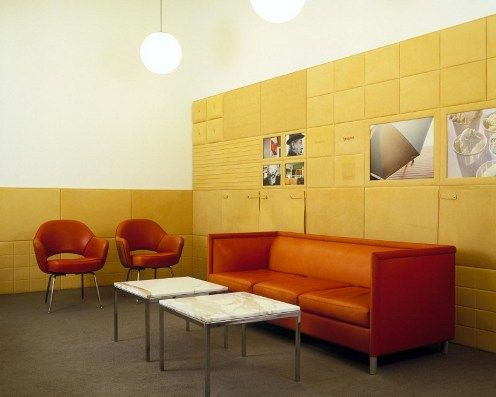 Spinneybeck Leather Wall panels in DV 0111 (including pockets ...
