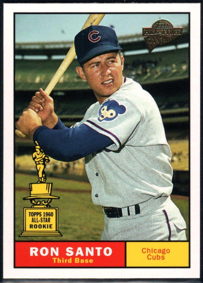1961 Topps Ron Santo Baseball cards, Baseball