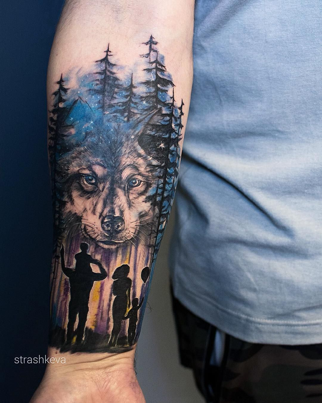 Wolf Wolf Pack Family Tattoo Tattoo Ideas And Inspiration Family Tattoos Wolf Tattoos Wolf Tattoo Sleeve