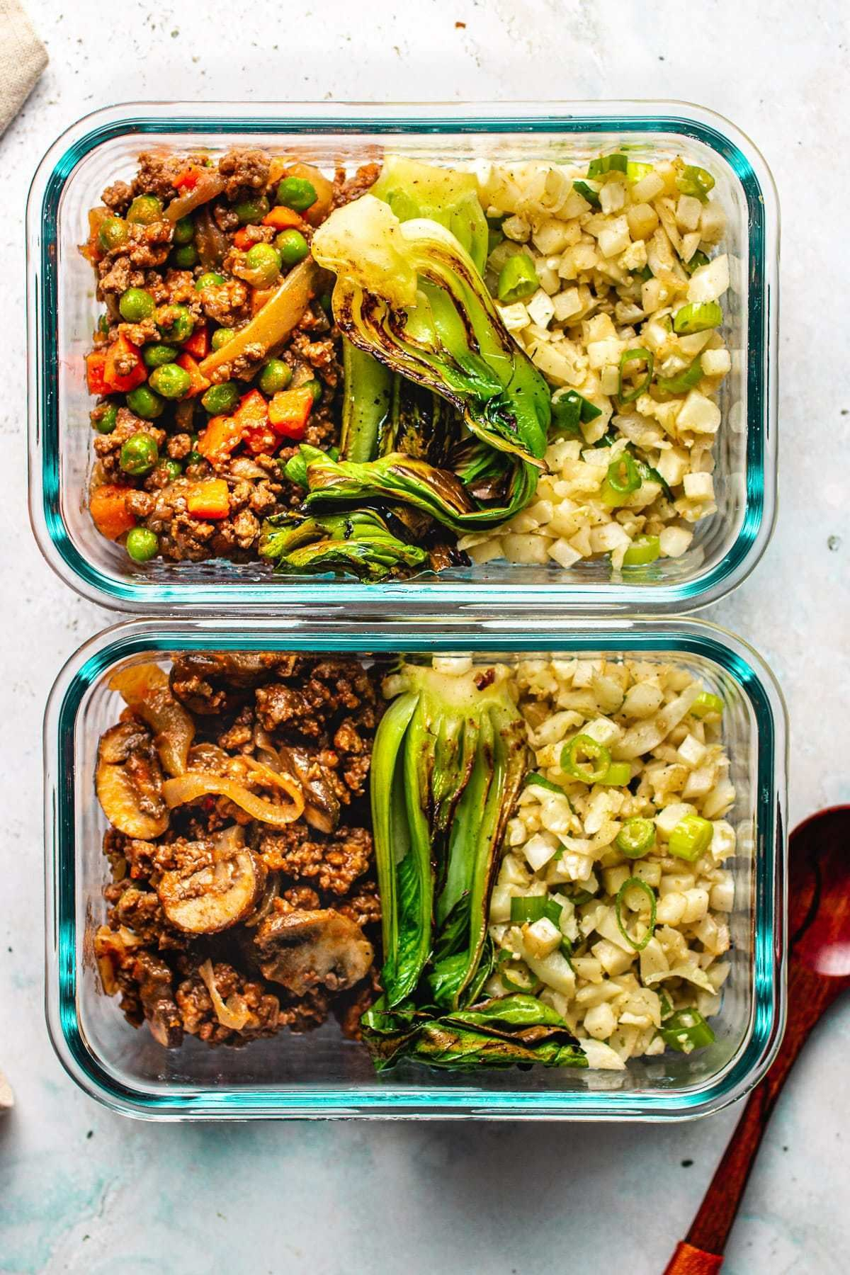 Easy ground beef meal prep recipe paleo whole30