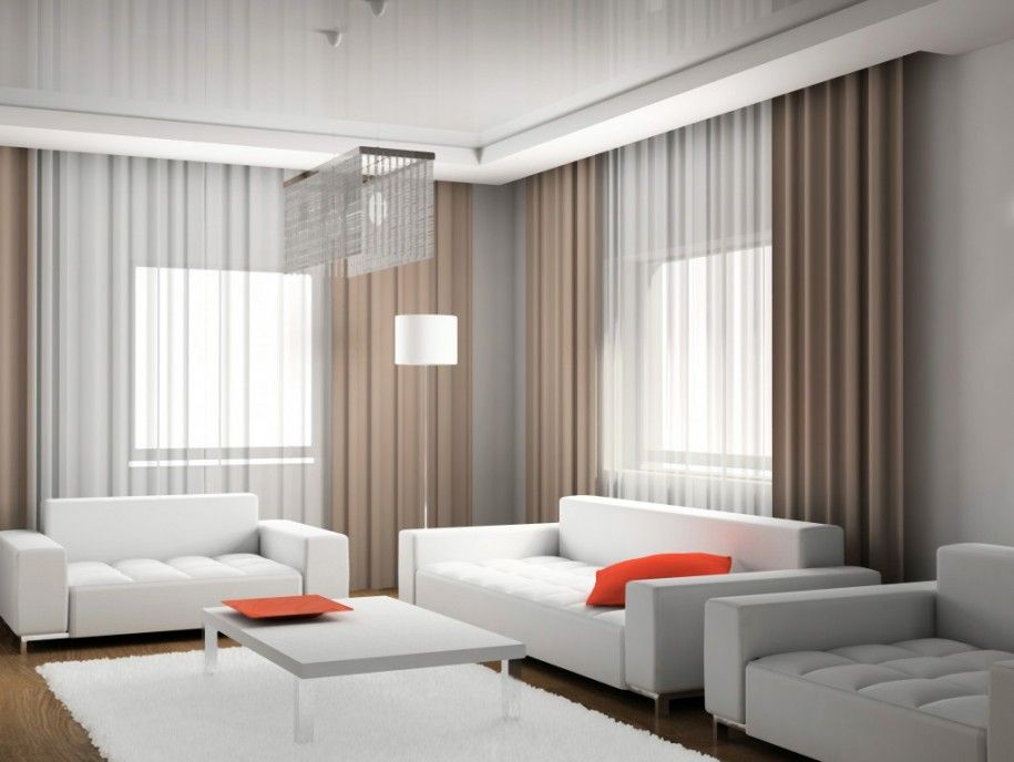 Simple Modern Curtain Curtains Living Room Modern Living Room