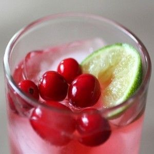 Sparkling Cranberry & Gin Cocktail | drinkshome