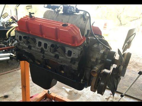 How To Rebuild A V8 Engine   Dodge 5 9 360 Magnum - YouTube