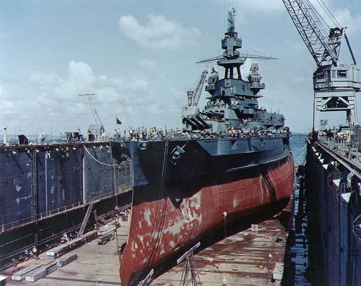 USS Pennsylvania BB-38 - Pearl Harbor survivor