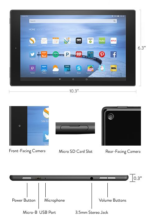 Fire Hd 10 Amazon S Official Site Learn More Fire Hd 10 Tablet Amazon Fire Tablet
