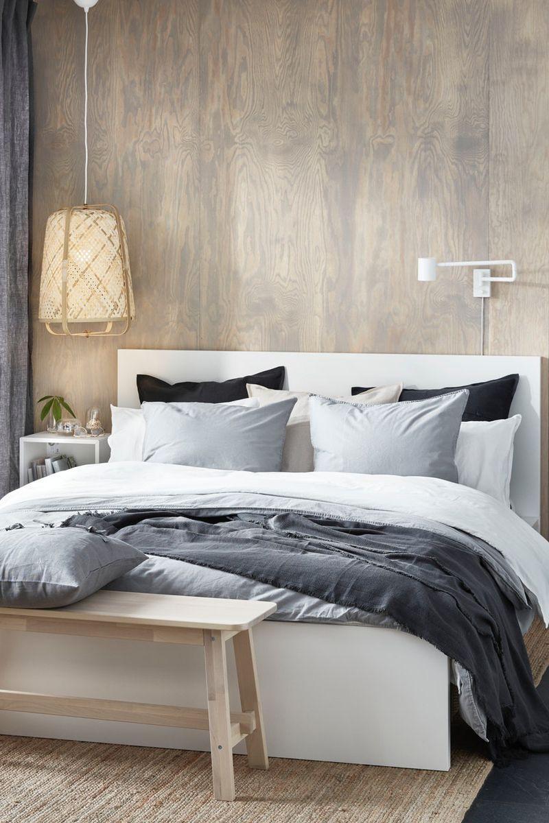 Hohes Kopfteil Zum Bequem Sitzen Im Bett Ikea Deutschland Das Hohe Kopfteil Macht Das Sitzen In 2020 Modern Home Furniture Modern Room Design Home Goods Decor