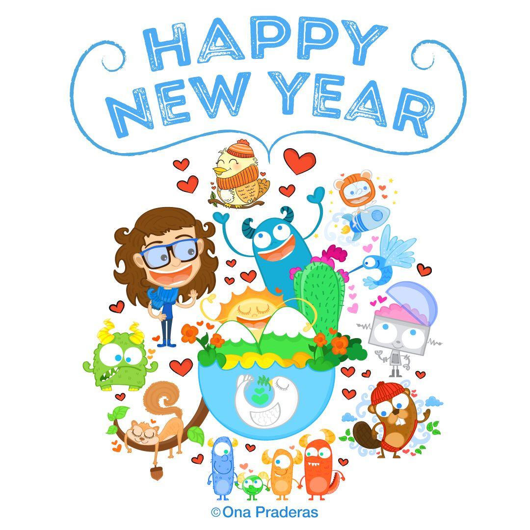 Ona Praderas   Happy new year