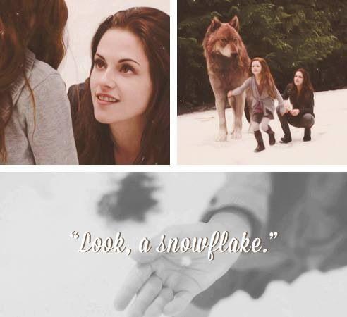 Renesmee,Bella,and Jacob - one of my favorite scenes in breaking dawn part 2