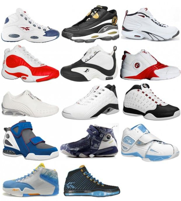 The Reebok Allen Iverson line. Nothing like your first. The rest is ... c91a1dad4