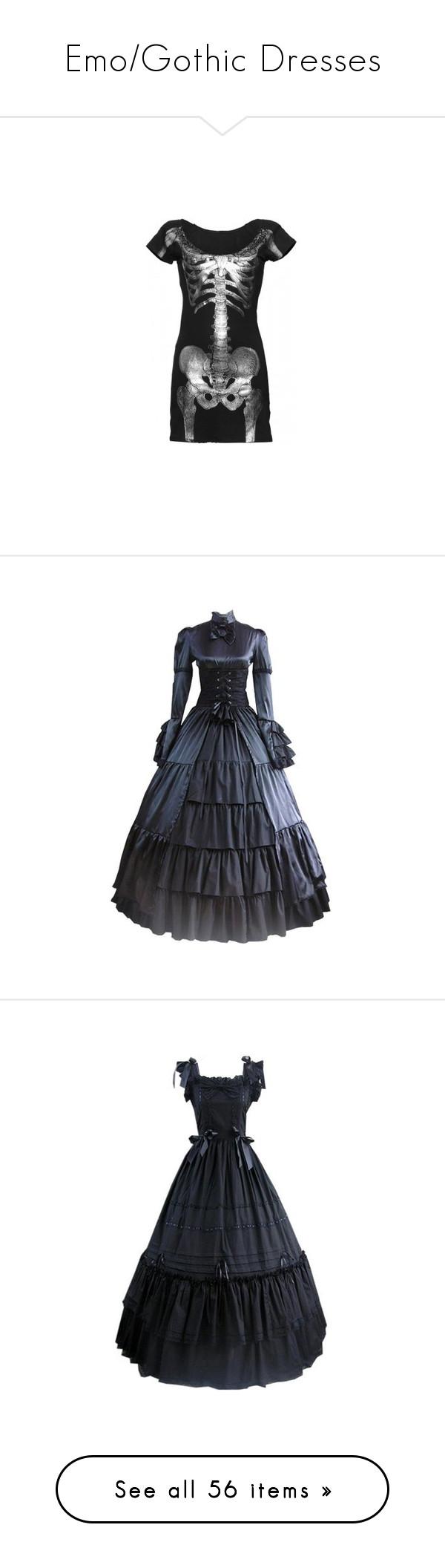 Emogothic dresses