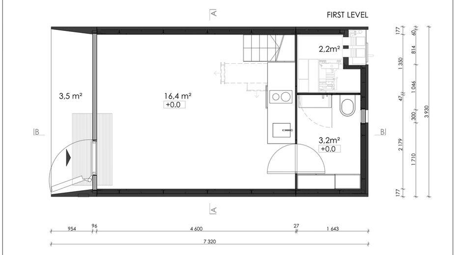 25 Quadratmeter Freiheit (mit Bildern) Grundriss, Haus