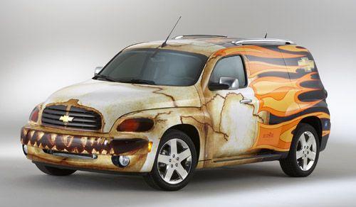 Hhr Chevrolet Hhr Custom Suv Tuning Coches Proyectos