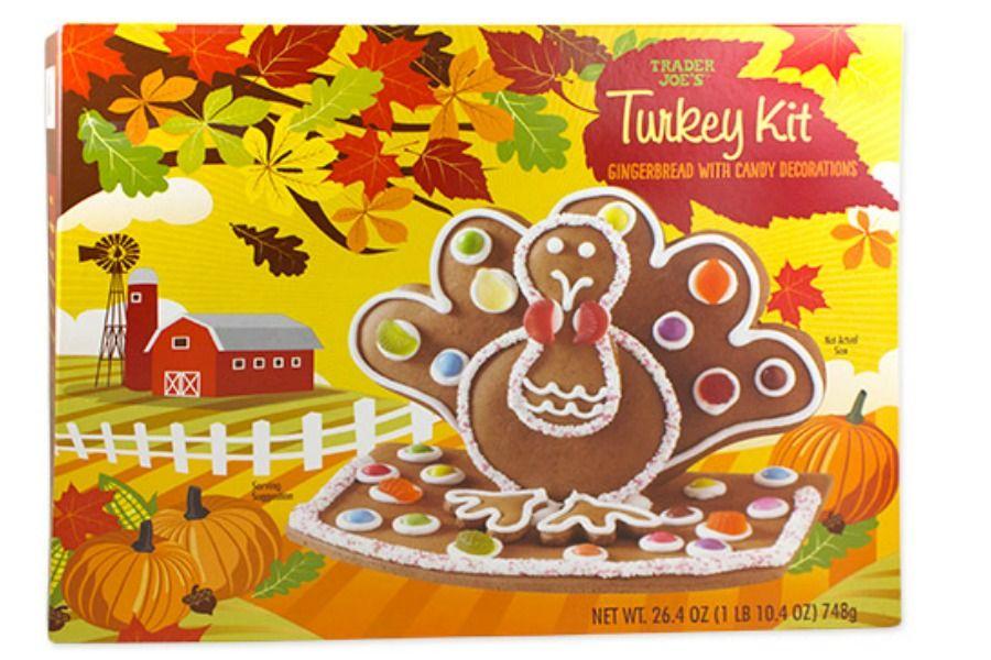 Trader Joe's Thanksgiving Gingerbread Cookie Kit Trader