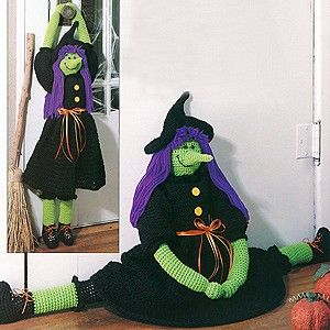 Bewitching Draft Dodger Crochet Epattern Halloween