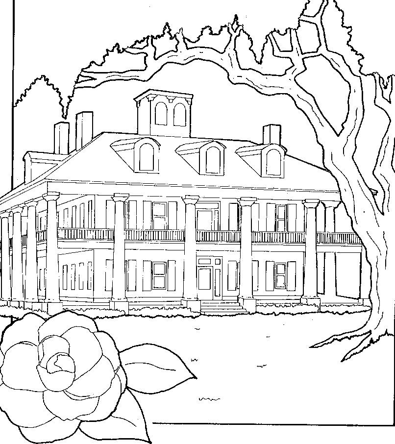 Fantasy Coloring Pages for Adults  coloring pages  house