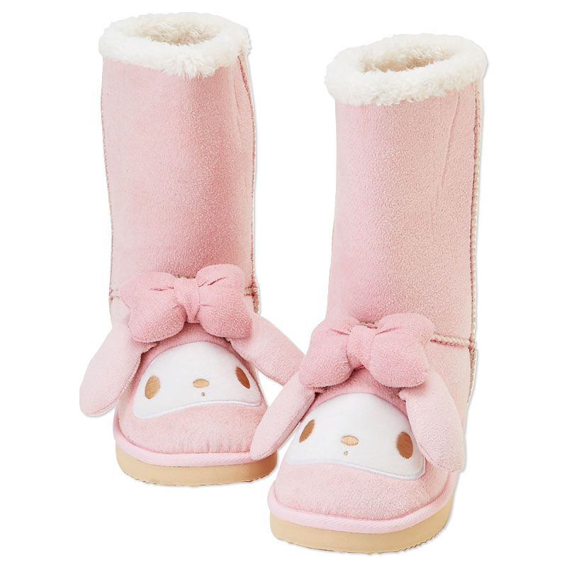 My Melody Boots Kawaii Shoes My Melody Sheepskin Boots