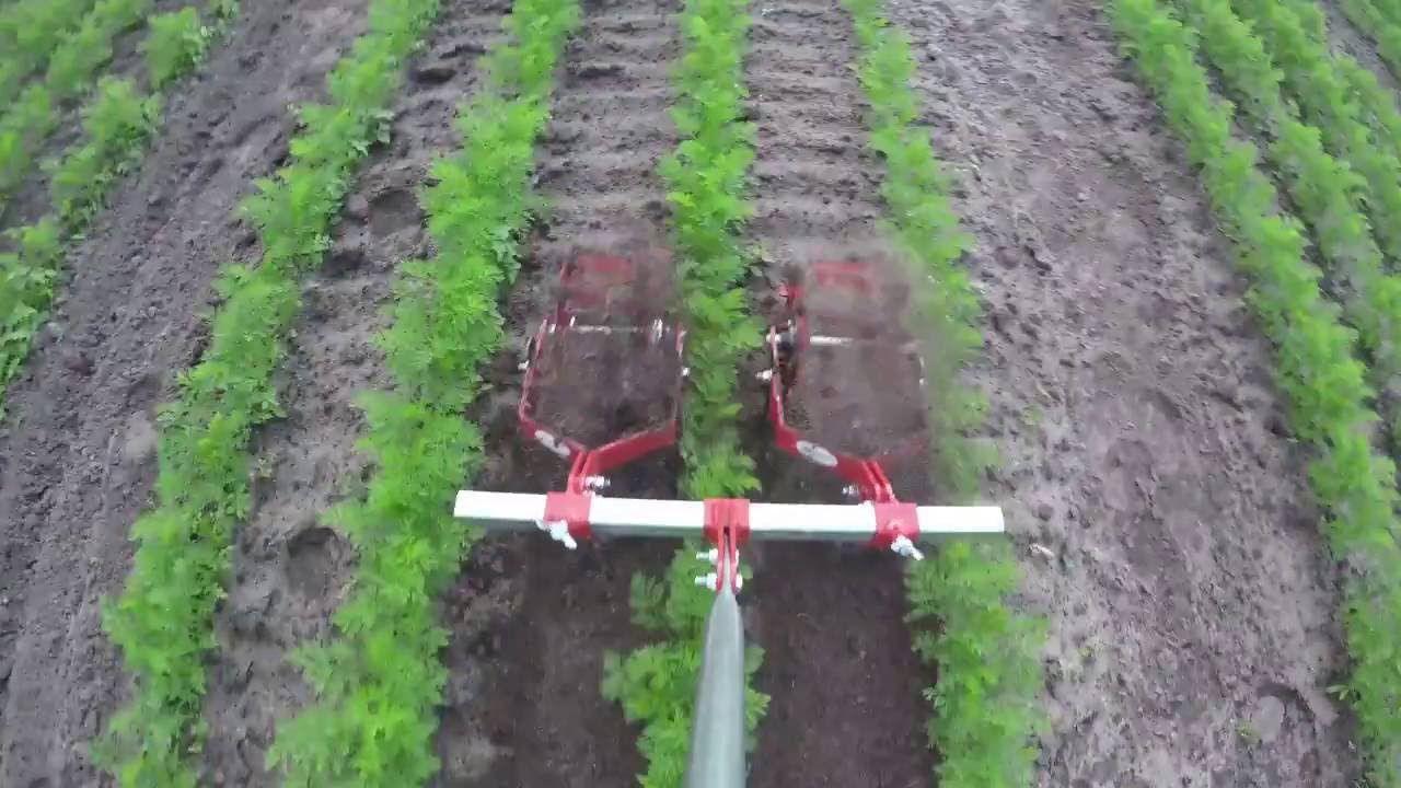 Terrateck Double Spinning Hoe Garden Cultivator Weeder Market Garden