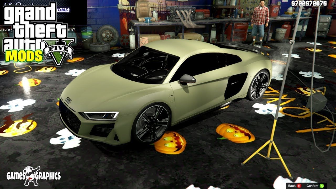 I Just Bought The New 2020 Audii R8 Coupe Real Life Mods 48 Gta 5 Coupe Gta 5 Mods Gta 5