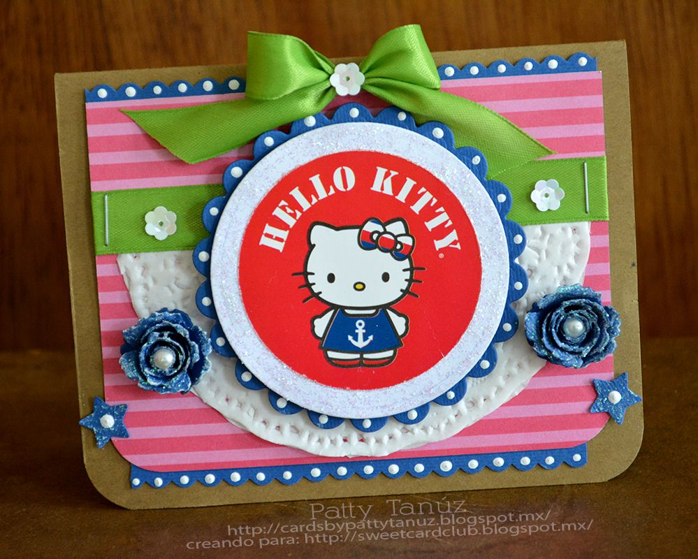 Hello kitty scrapbook ideas - Hello Kitty Card Scrapbook Com