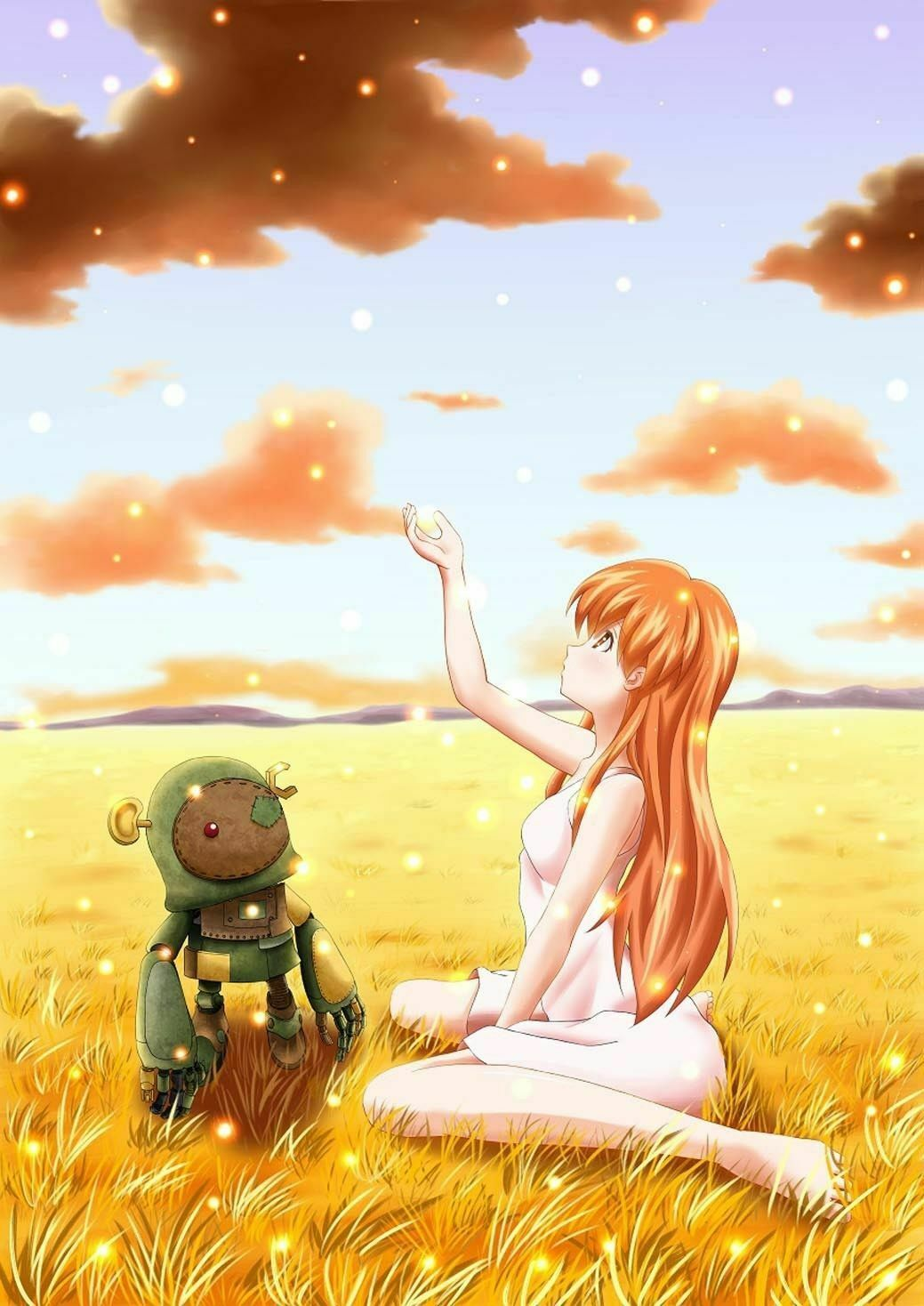 154835 Clannad After Story Animation Art Decor Wall Print Poster