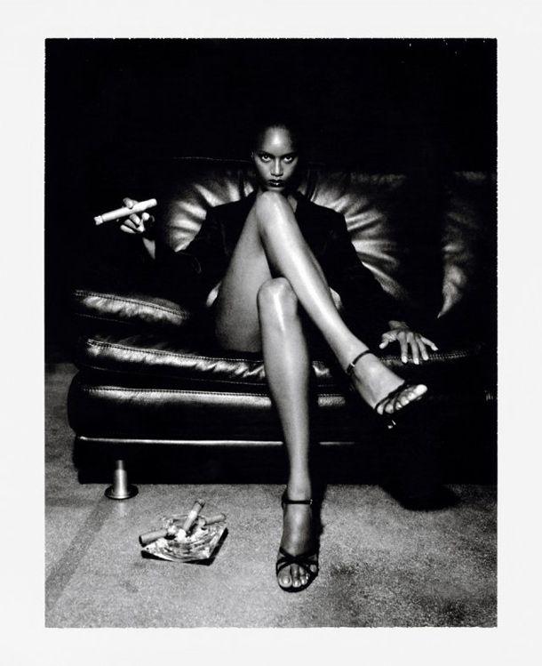 Polaroids: Helmut Newton  -  Photographer:Helmut Newton