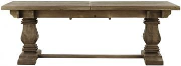 ALDRIDGE EXTENDABLE DINING TABLE Capture Classic Style With This Elegant Farmhouse  Dining Table Item #16730