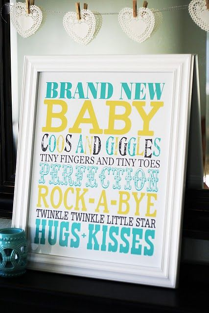 easy baby gift