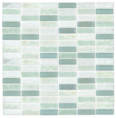 Hamilton Biltmore With Ice Glass 5 X 1 75 In Seafoam Green Bathroom Green Tile Bathroom The Tile Shop