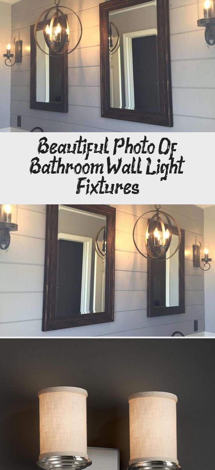 Photo of Beautiful Photo Of Bathroom Wall Light Fixtures – Decorations