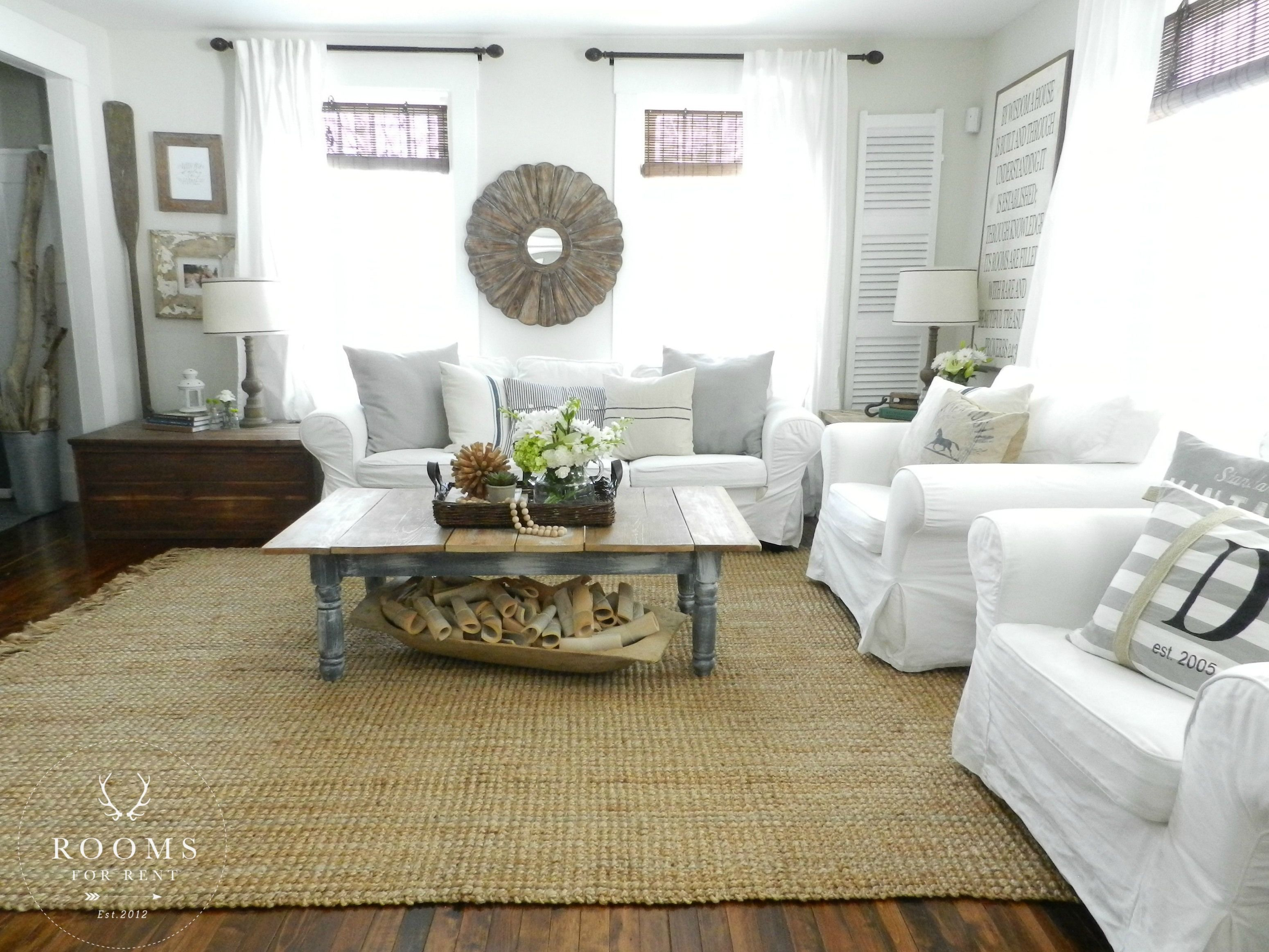 Farmhouse living room chairs - 1000 Images About Spring Home Tours 2015 On Pinterest Virginia House Tours And Cottages