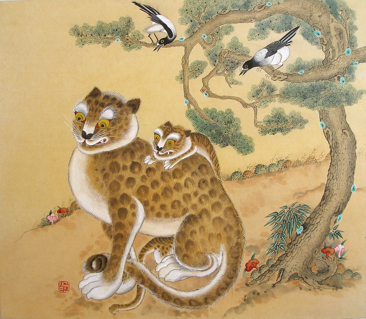 Pin By Steve Garrigues On Korean Tigers (and Cats