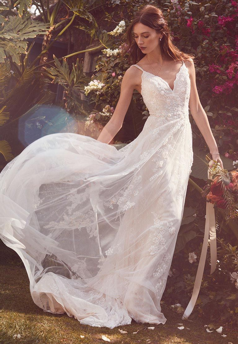 Melissa sweet gowns are perfect for modern romantics the soft