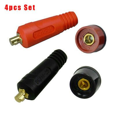 Assorted Connector Universal DKJ10-25 /& DKZ10-25 Welding Accessory Parts