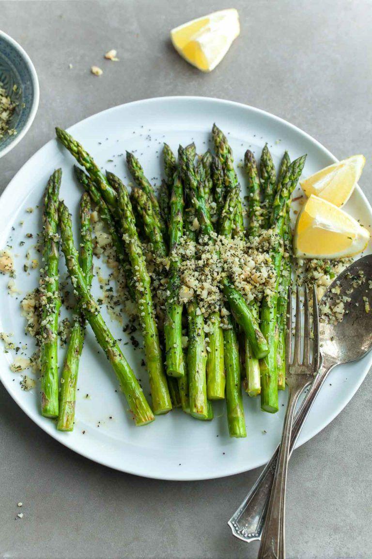 Grilled Lemon Poppy Seed Asparagus Recipe Asparagus Spring Recipes Vegetarian Lemon Poppyseed