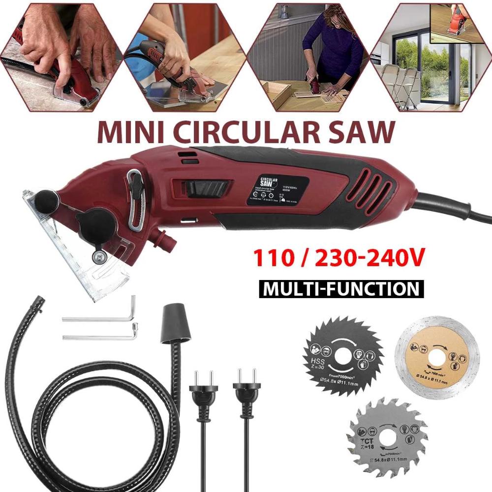 500W Mini Circular Saw Multi-Function Electric Circular Saw Woodworking
