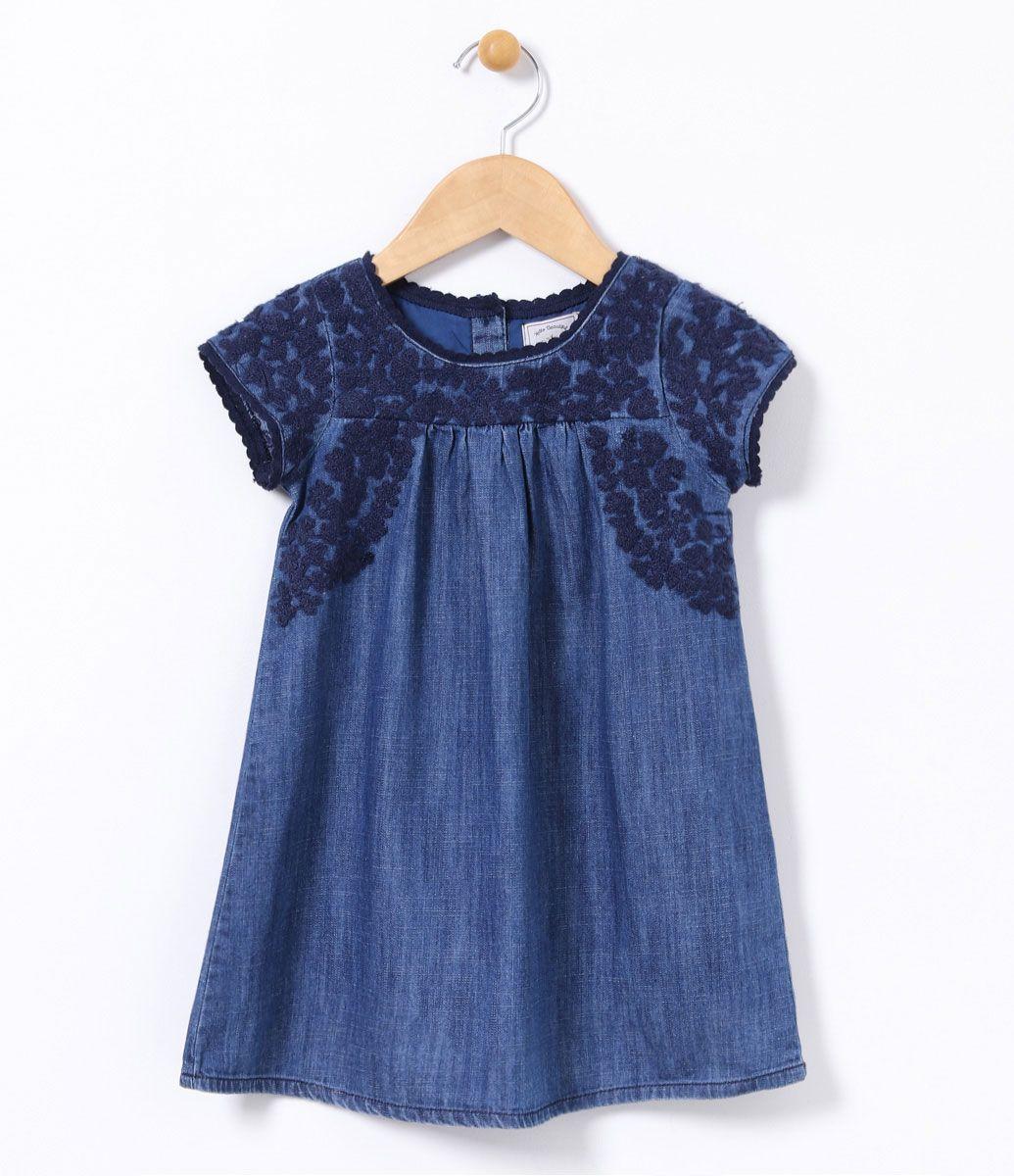 Carinhoso Vestido Azul Carinhoso
