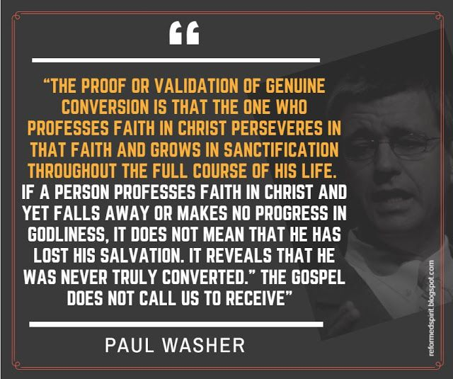 A True Chrisitian perseveres to the end -   Paul Washer