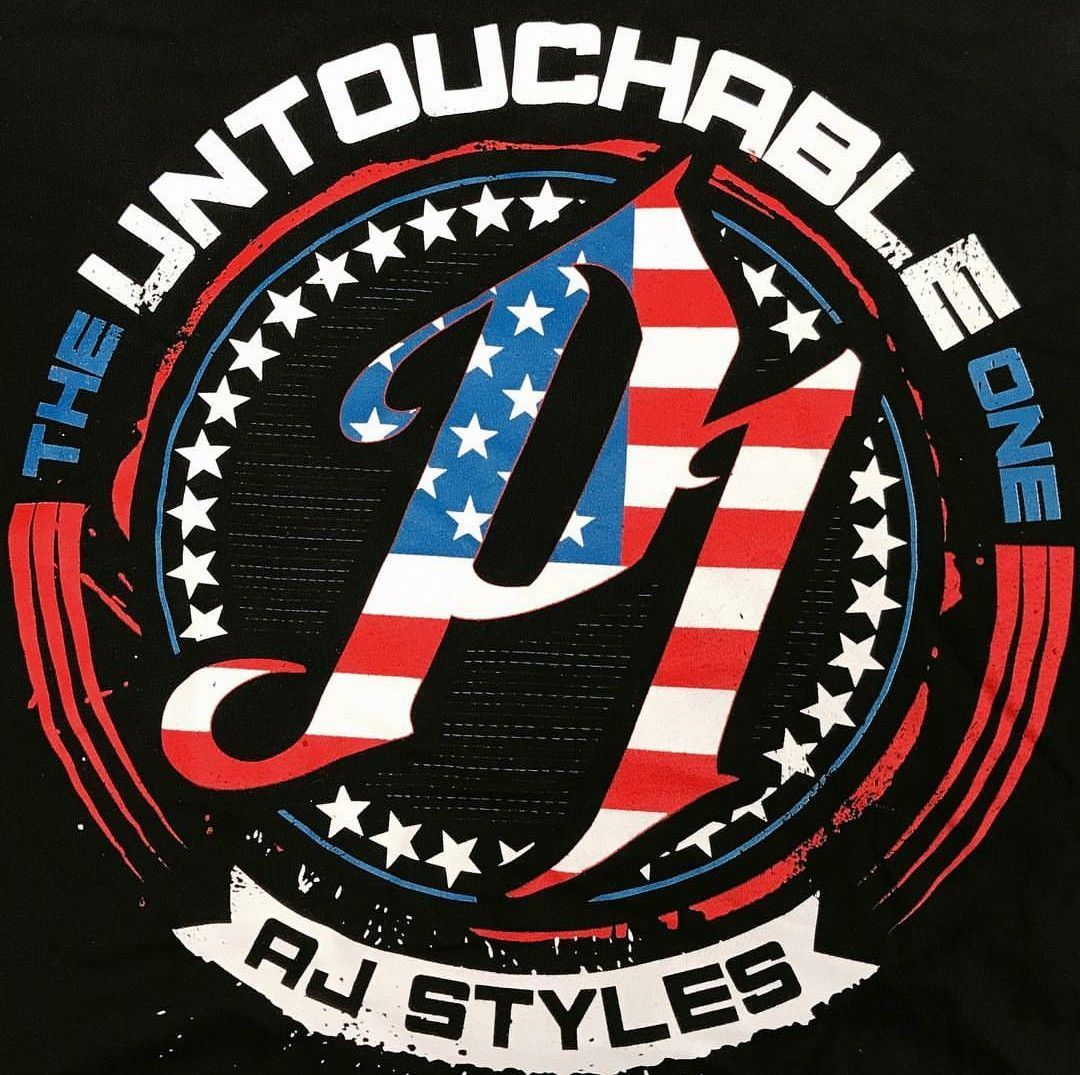 The Untouchable One Aj Styles Wwe Wallpapers Wwe Logo Aj Styles