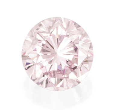 product round loose argyle pink natural diamond very fancy gia light