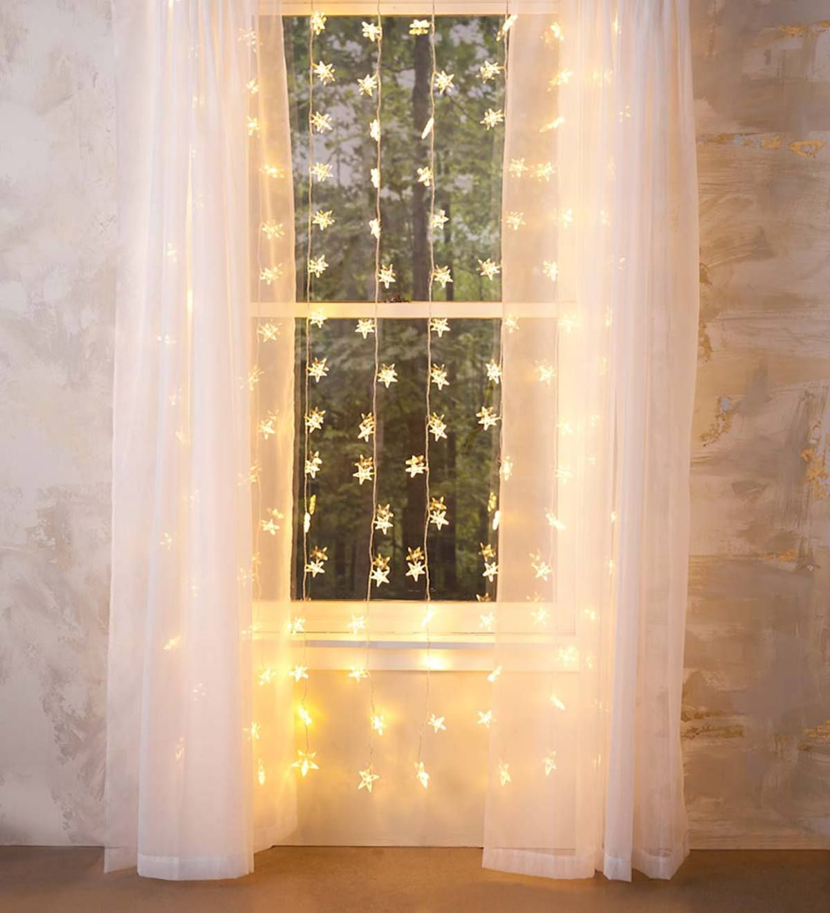 Our Star Curtain Lights Will Transform Any Space In Your Home Now