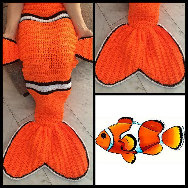 Finding Dory Crochet / Knitting Patterns | Cola de sirena, Sirenitas ...