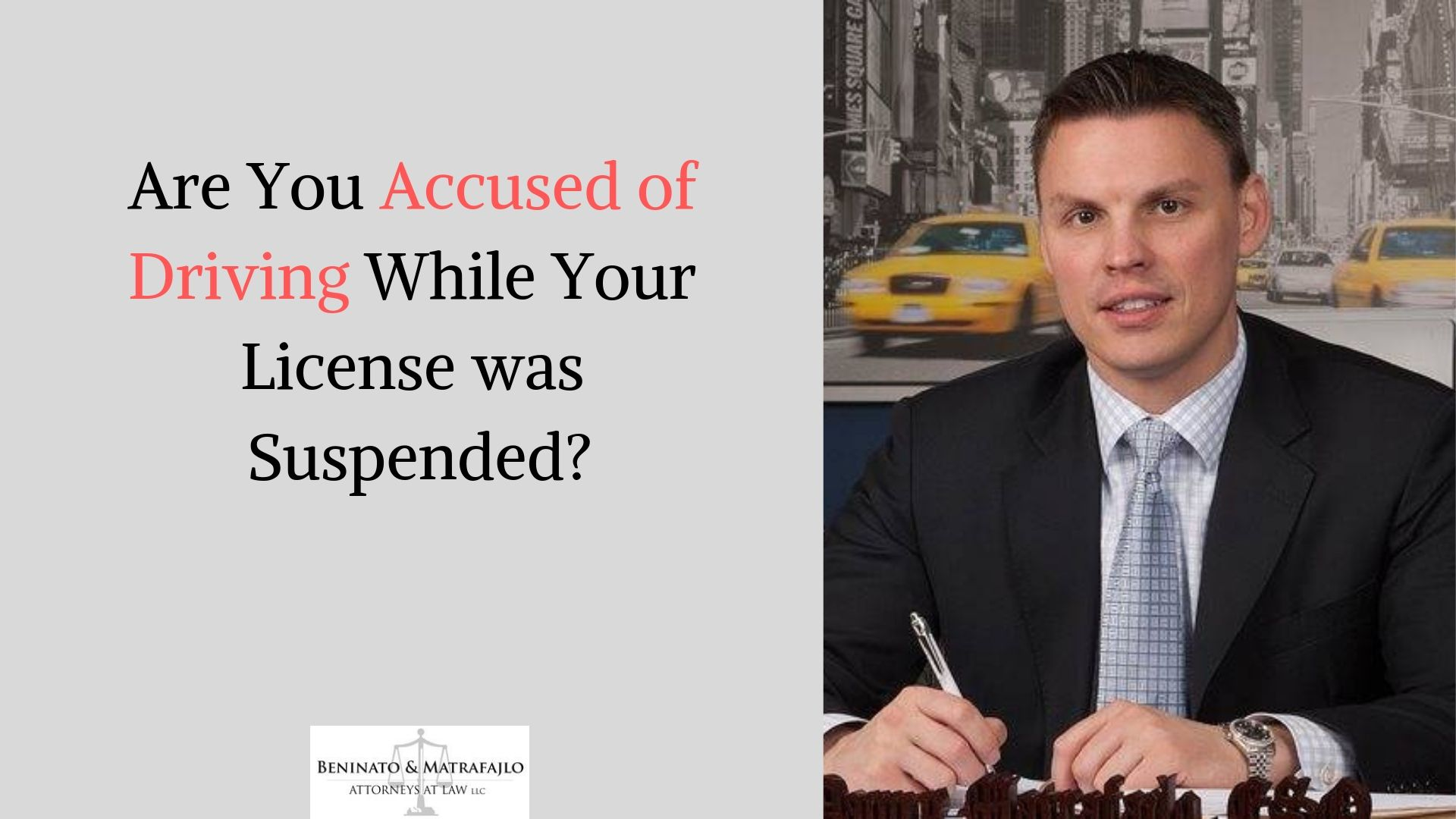 If you have been charged with driving on a suspended