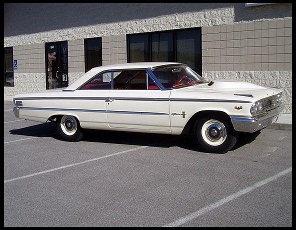 1963 Ford Galaxie Lightweight 427 425 Hp 4 Speed Ford Galaxie Galaxie Ford Classic Cars