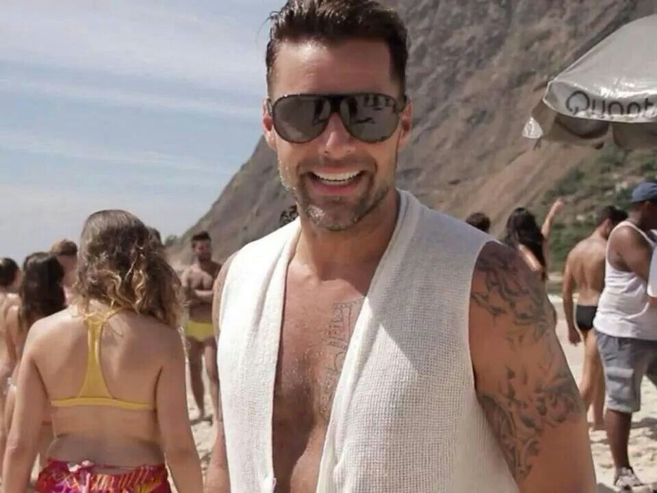 #RICKYMARTIN #HANDSOME #LATINO #SMILE #VIDA
