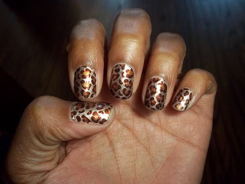 Sally Hansen Salon Effects Real Nail Polish Strips Charmed Valerie