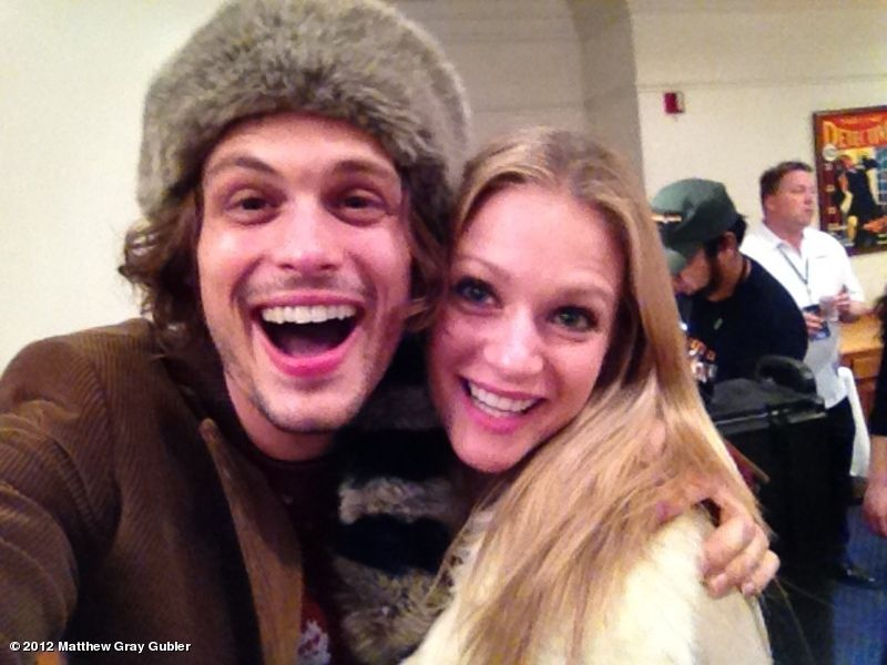 Aj Cook And Matthew Gray Gubler Dating AJ Cook / Matth...