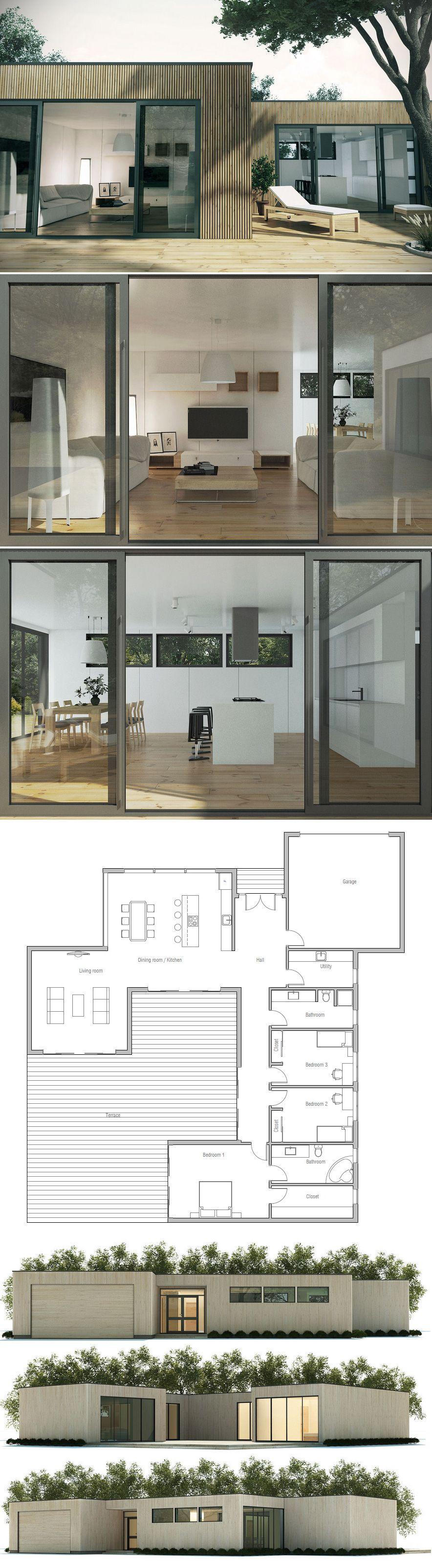 hausplan modernes haus h user haus haus grundriss und haus pl ne. Black Bedroom Furniture Sets. Home Design Ideas