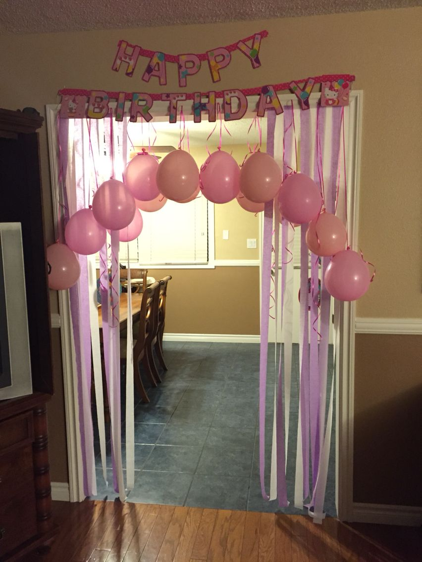 Birthday Morning Surprise 40th PartiesBirthday Party Decorations10th