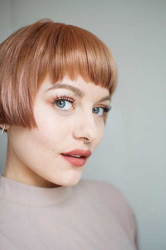 Hairstyle Glasses Women Hairstyleshort Buzz To Bob Pinterest
