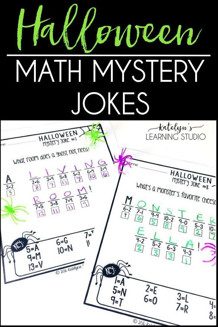 Halloween Math Worksheets Halloween math, Halloween math